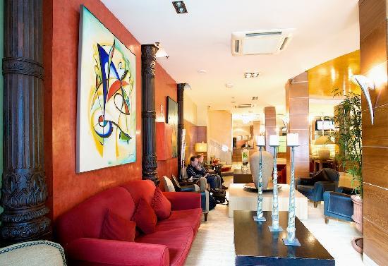 Hotel Regina: Hall reception