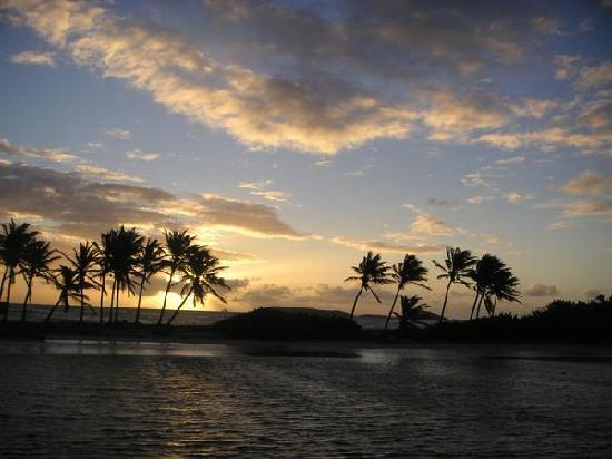 Νησί Mayreau: mayreau sun set.