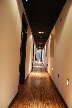 Hotel Villa de Setenil: Pasillo