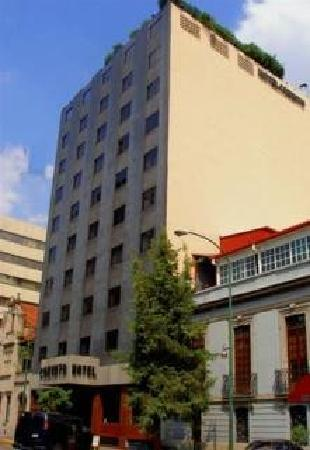 Corinto Hotel: Fachada del hotel