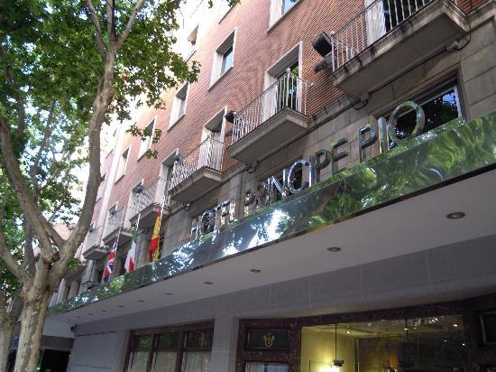 Principe Pio Hotel La Facciata Del