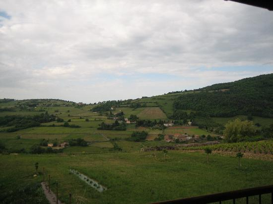Les Buis du Chardonnet : View from our room