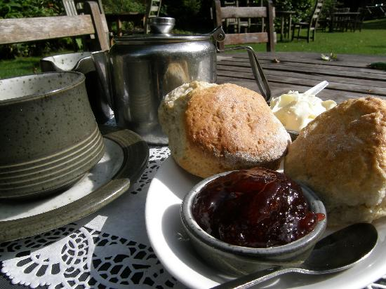 Watersmeet House: You just can't beat a Devon cream tea by the river