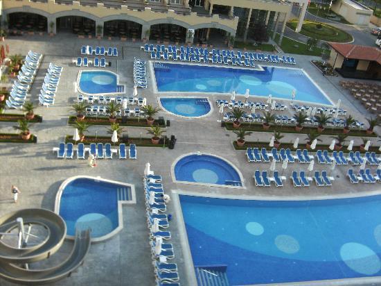 Iberostar Sunny Beach Resort: view from our balcony