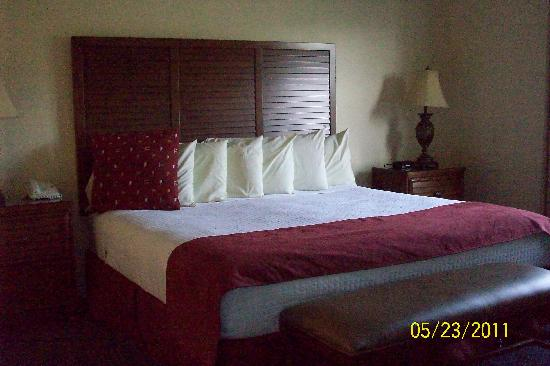 Bluegreen Vacations Harbour Lights, Ascend Resort Collection: 1 BR Suite King bedroom (has door to screened porch