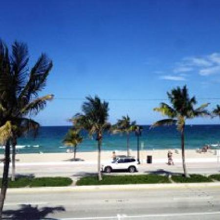Tropic Cay Beach Resort: View from room 200