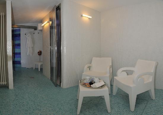 Area Benessere Con Sauna E Bagno Turco Picture Of Hotel