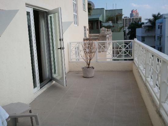 Casa Grande Suite Hotel of South Beach: our balcony