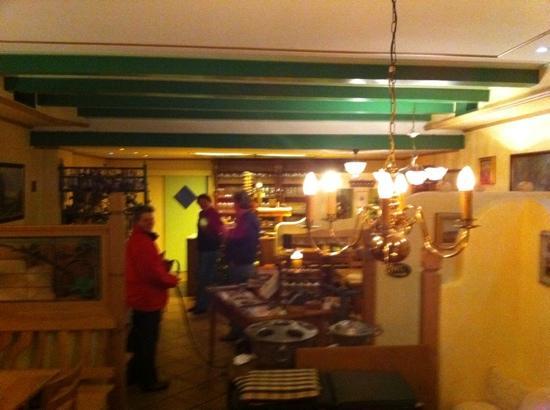 Weinstube Petersilie in der Tenne: Gastraum