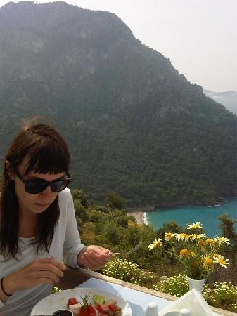 Faralya, ตุรกี: Breakfast