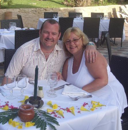 Hotel Riu Tikida Beach: My birthday table!