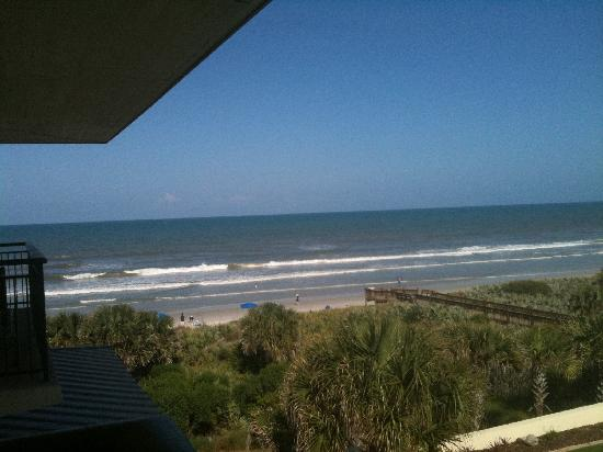 The Lodge at Hammock Beach: view from our room