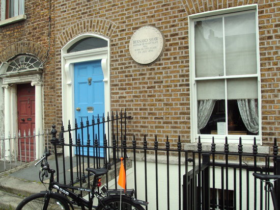 Dublin City Bike Tours: bernard shaw's home place