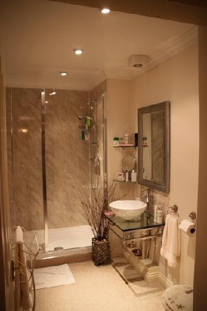 Afon Gwyn Country House: Robinson room bathroom