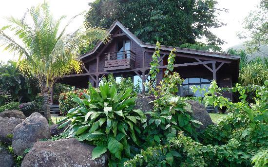 Le Jardin Malanga: le chalet qui nous a hébergé ...