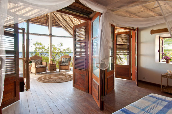 Ibo, Mozambique: The Veranda room overlooking Quirimbas
