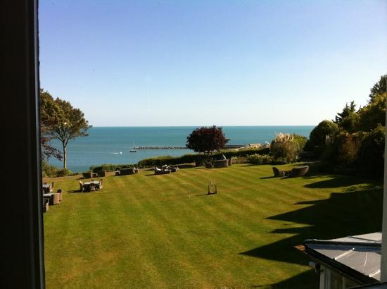 Lyme Regis, UK: The view from our room.
