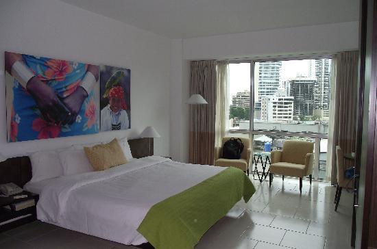 Radisson Decapolis Hotel Panama City: Habitación 10o. Piso, excelente vista