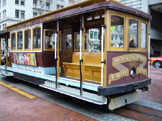 University Club San Francisco: Near Cable Car