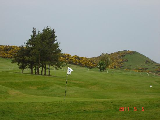 Swanston Farm Holiday Cottages : golf course