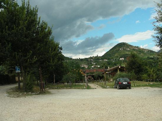 Cervaro, إيطاليا: Ingresso ristorante