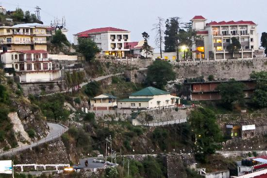 lobby pathway - picture of royal orchid fort resort, mussoorie