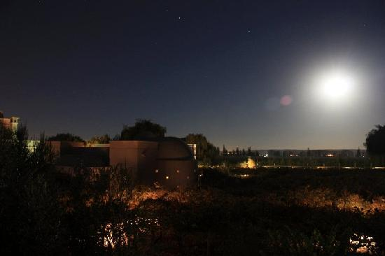 Cavas Wine Lodge: Starry view from terrace