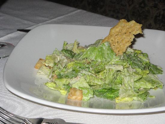 Sonoma Cellars Steakhouse at Sunset Station: Caesar salad