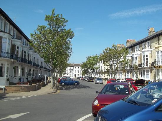 Embassy Hotel: the street