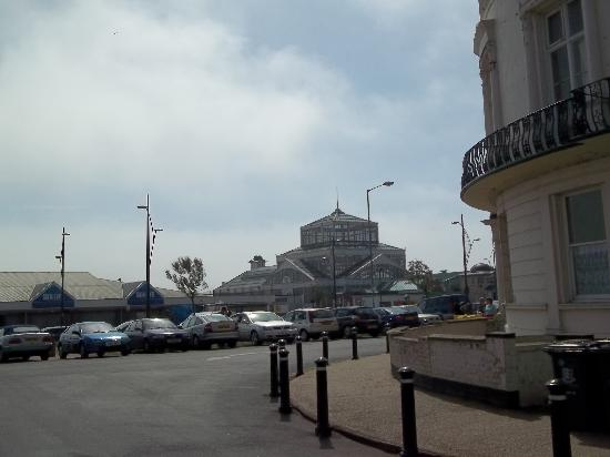 Embassy Hotel: the sea front
