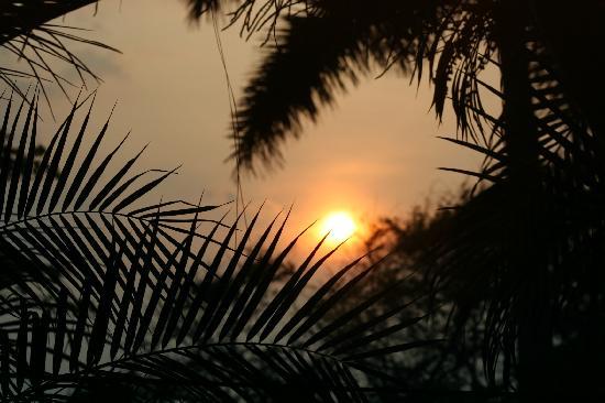 Hotel Casa Azul: sunset
