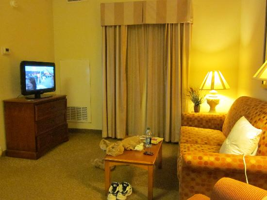 Homewood Suites by Hilton Raleigh-Durham AP / Research Triangle: Living Room
