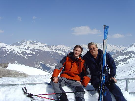 Finkenberg, Áustria: Hintertux Gletscher