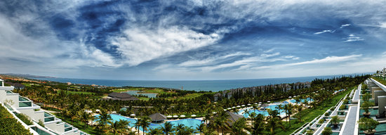 Sea Links Beach Hotel: Magnificent panoramic view