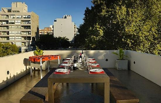 Palermo Hollywood Wine Suites: Terrace