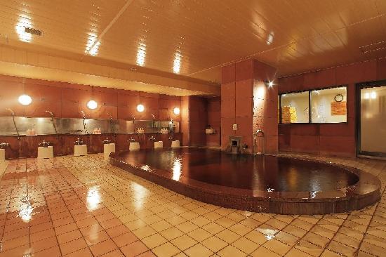 Fukui Hotel: 源泉かけ流しモール温泉大浴場