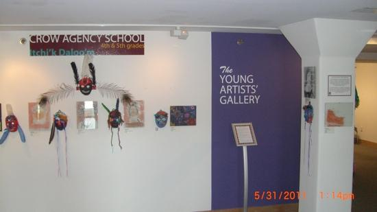 Yellowstone Art Museum: display area