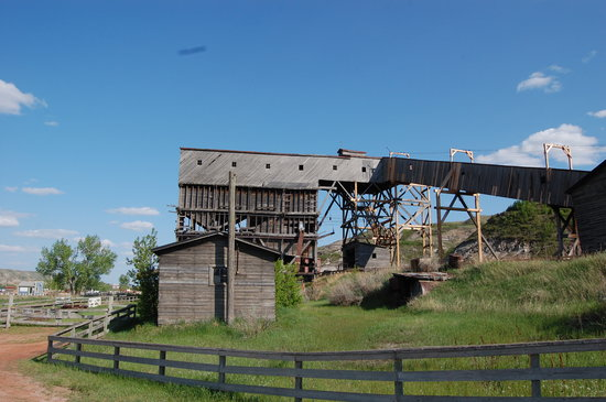 Atlas Coal Mine National Historic Site: The Tipple