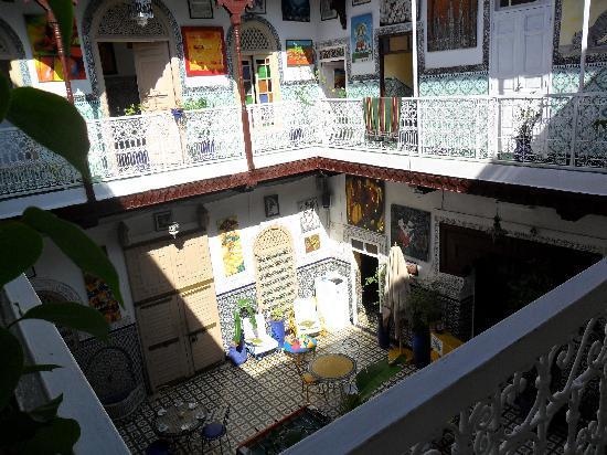 Les Couleurs de l'Orient: Balcony View