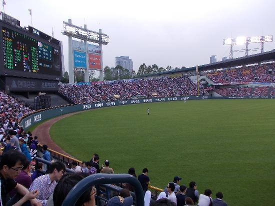 Jamsil Baseball Stadium: 外野方向