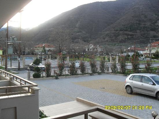 Hotel Eliton & Spa : view from the balcony
