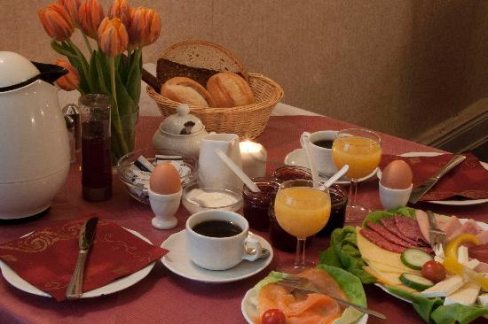 Pension Am Park: Frühstück