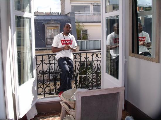Best Western Premier Trocadero La Tour : Room Balcony
