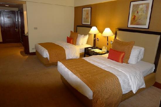 Diamond Hotel Philippines: Room on 15th Floor