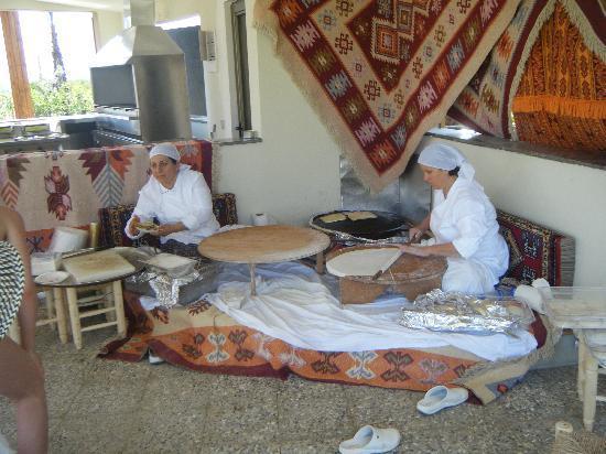 Sherwood Dreams Resort: Gozleme (Turkish Pancakes)
