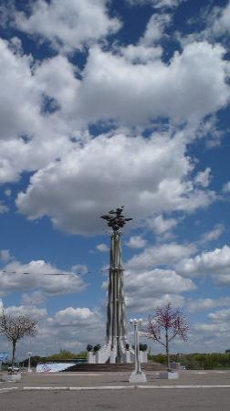 Karaganda, Kasakhstan: loved the sky there,just like in Russia