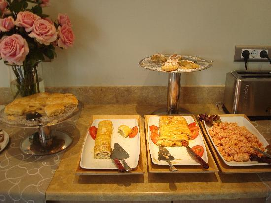 Nissaki Beach Hotel Naxos : Frühstücksbuffett