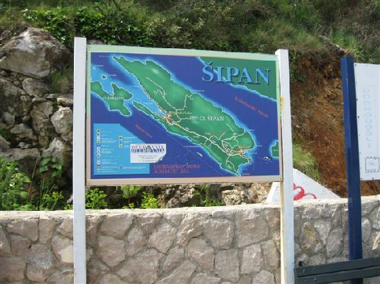 Elafiti Islands, Croatia: Insel Sipan, Übersicht