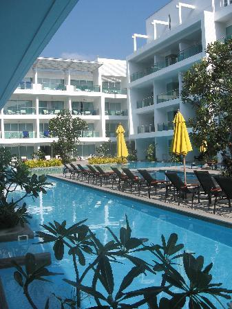 The Old Phuket: Pool view from room.