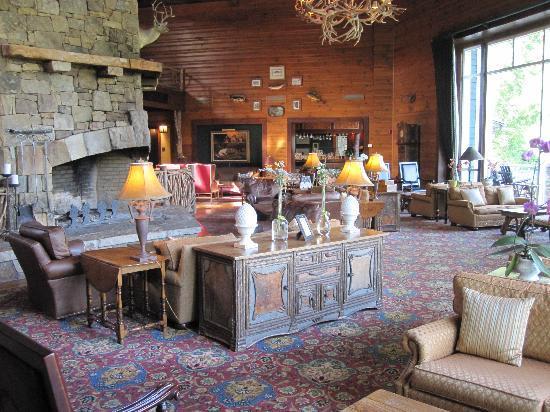 Brasstown Valley Resort & Spa: main lounge
